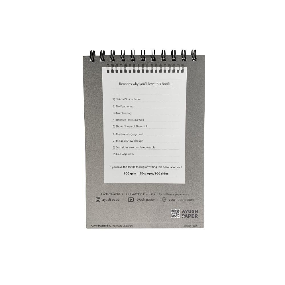 Ayush Paper Notepad A5 Liniert