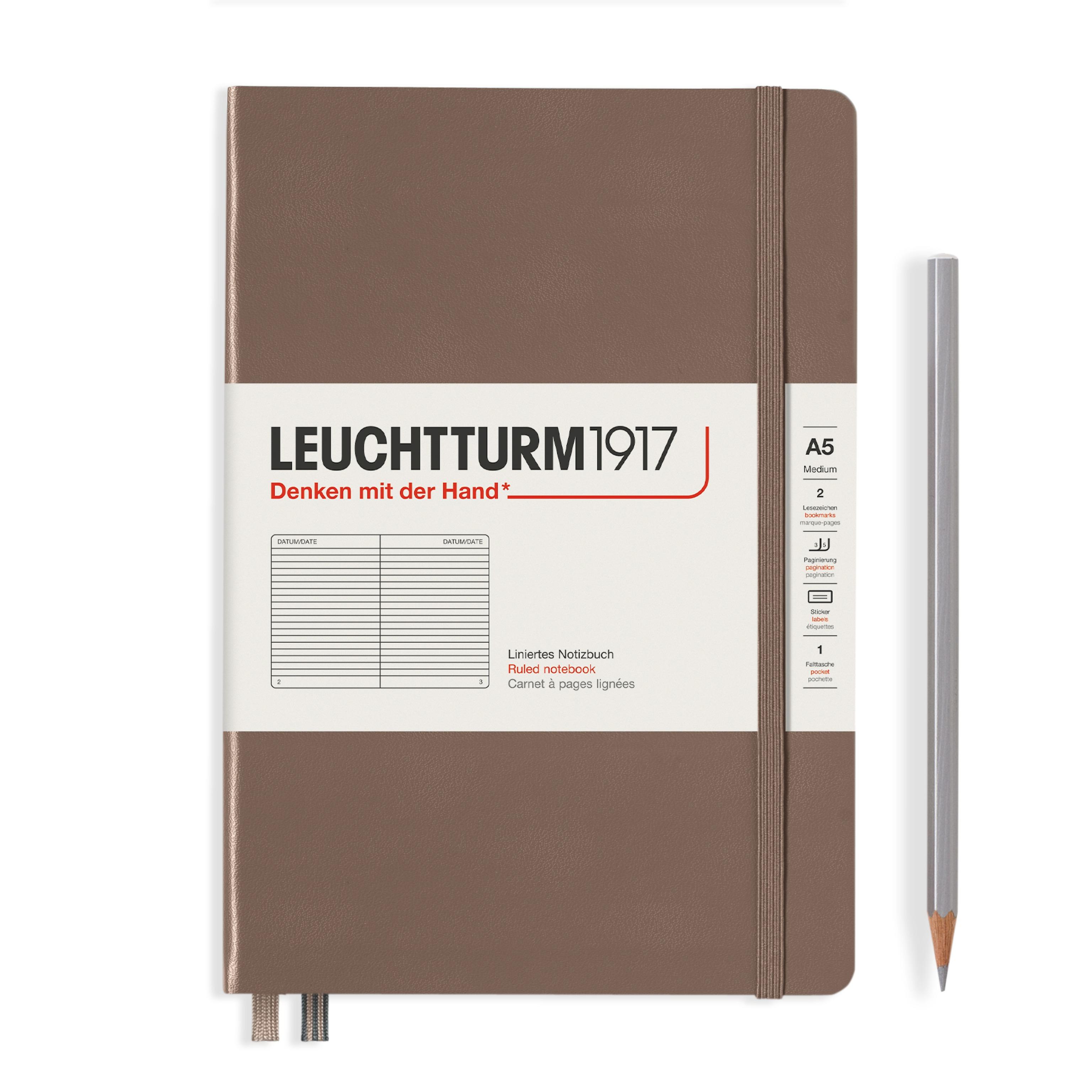 Leuchtturm1917 A5 Hardcover Rising Colours - Warm Earth, Liniert