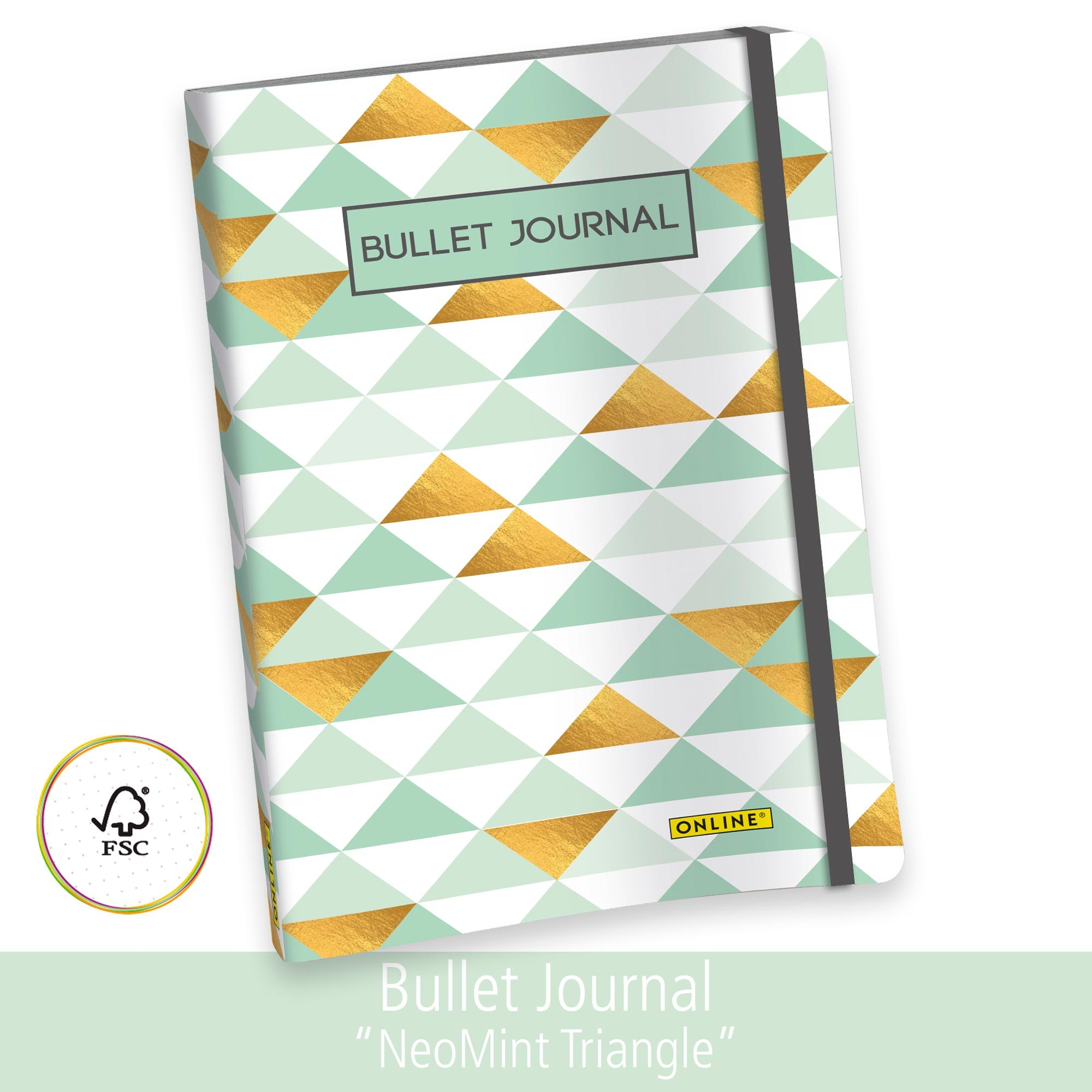 Online Bullet Journal A5 Dotted