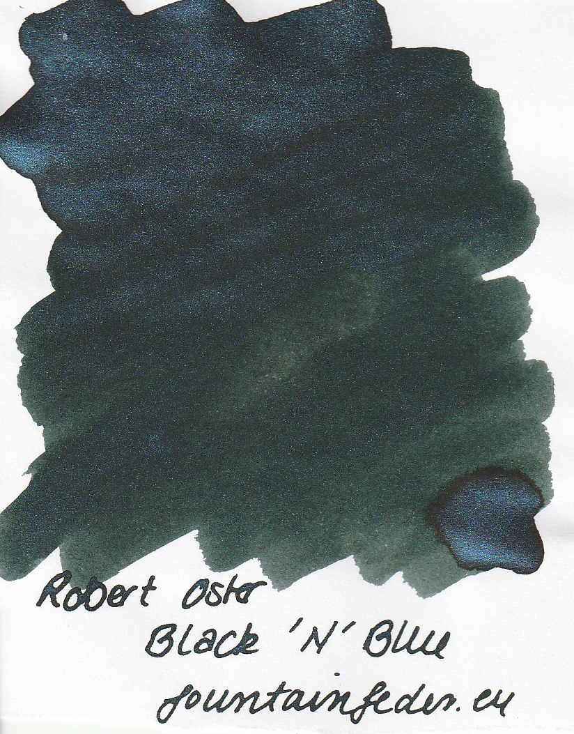 Robert Oster Shake`N`Shimmy - Black 'N' Blue 50ml
