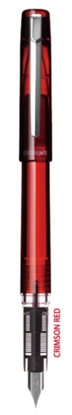 Platinum Prefounte Crimson Red