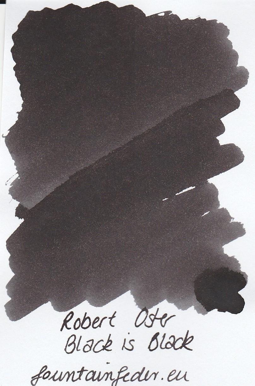 Robert Oster - Black is Black 50ml