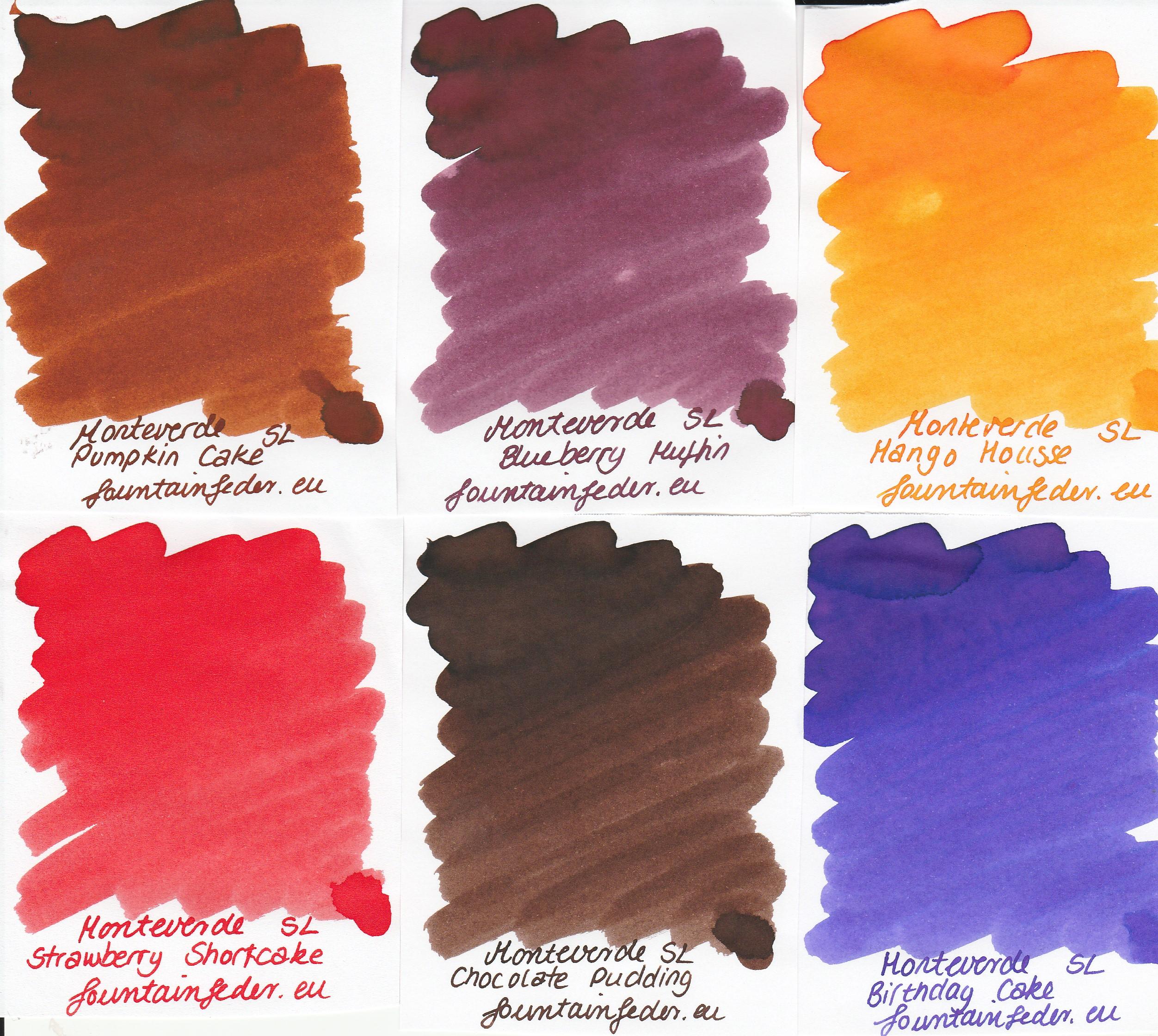 Monteverde Sweet Life - Ink sample Set