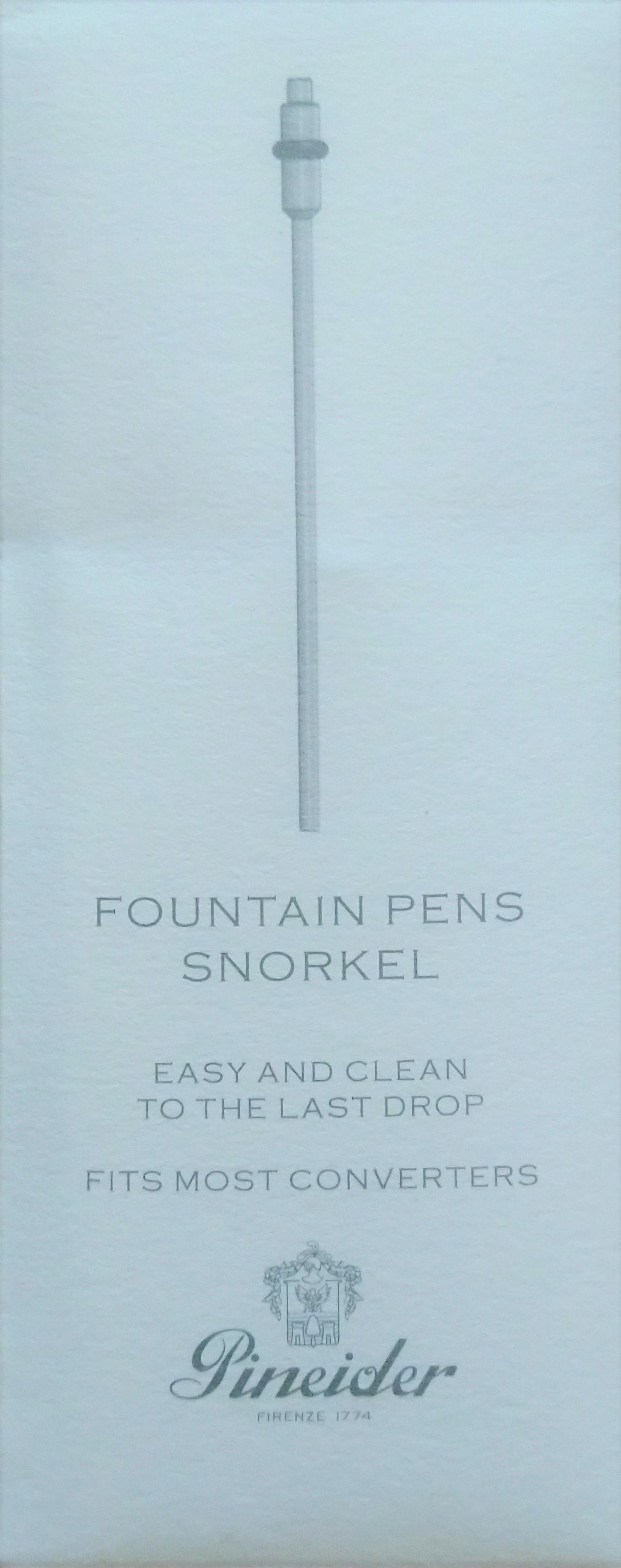 Pineider Fountain Pen Snorkel