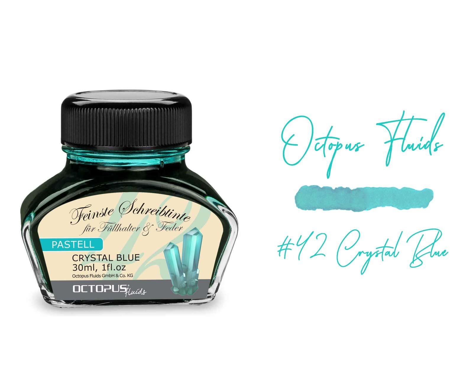 Octopus Fluids Pastell -Crystal Blue 30ml