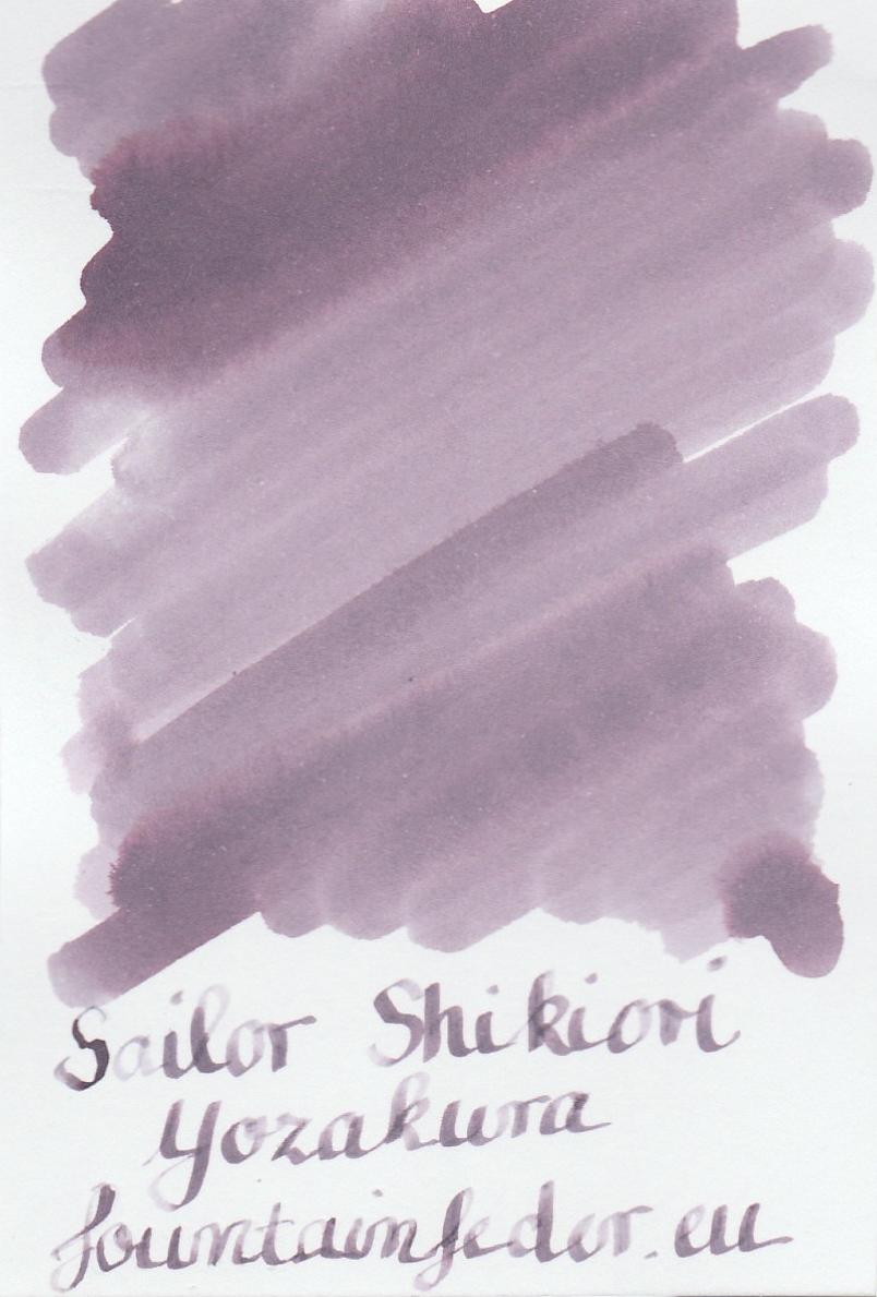 Sailor Shikiori Yozakura Ink Sample 2ml