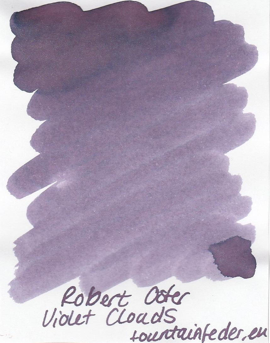 Robert Oster Shake`n`Shimmy - Violet Clouds Ink Sample 2ml