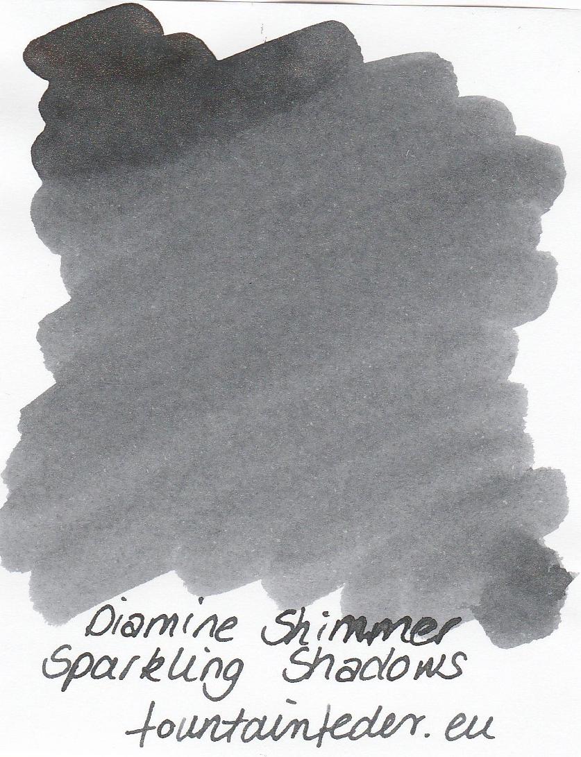 Diamine Shimmer Sparkling Shadows Ink Sample 2ml