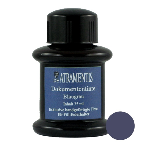 DeAtramentis Document Ink Blue Grey 45ml