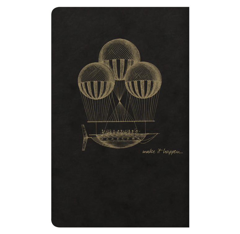 Clairefontaine Flying Spirit  11x17cm  - Black