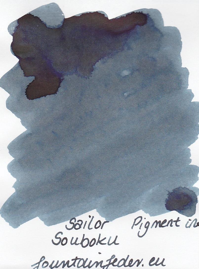 Sailor Pigment Souboku Ink Sample 2ml
