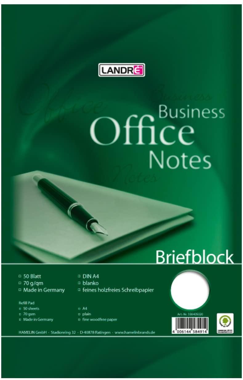 Landre Briefblock A4