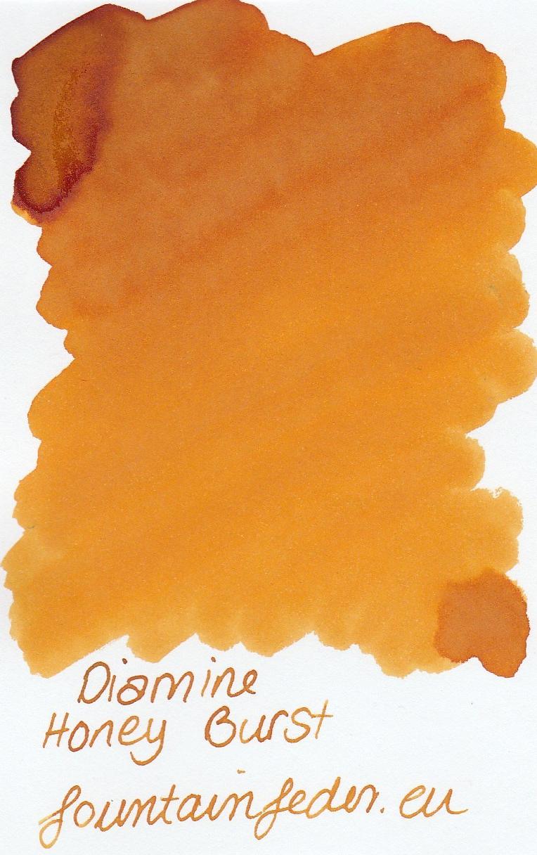 Diamine Honey Burst Ink Sample 2ml