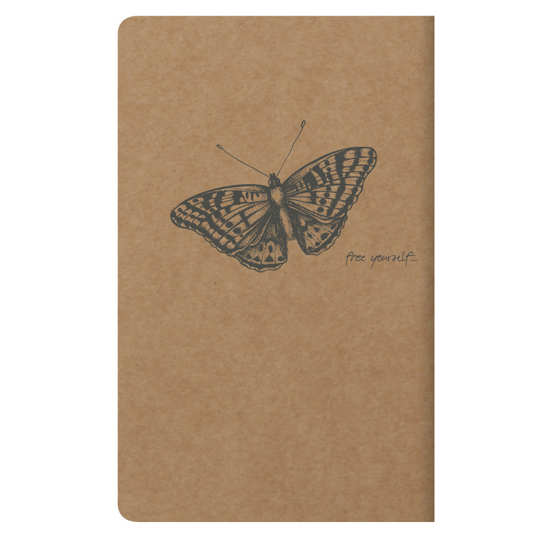Clairefontaine Flying Spirit  11x17cm  - Brown