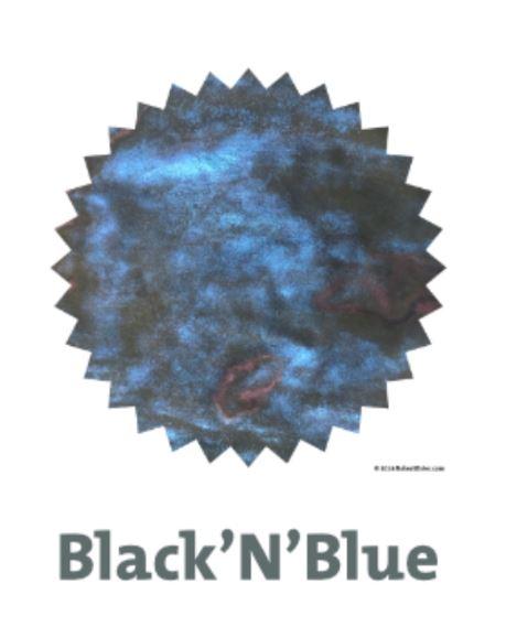 Robert Oster Shake`N`Shimmy - Black`N`Blue  50ml