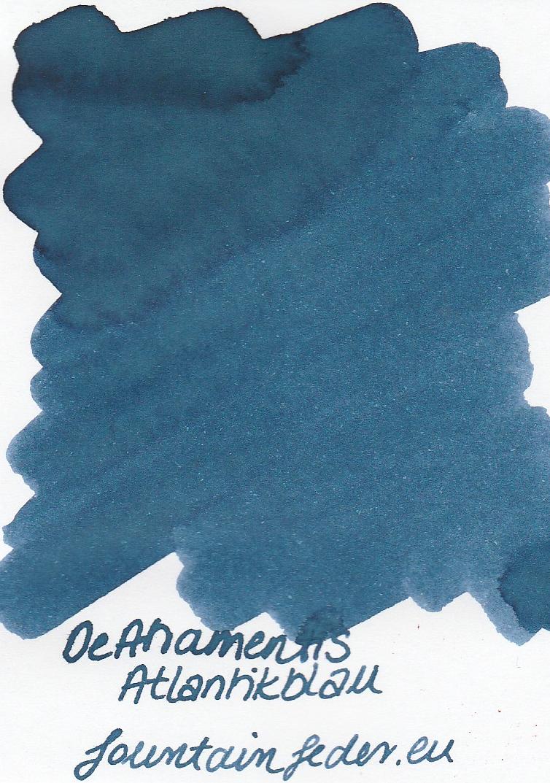 DeAtramentis Atlantikblau Ink Sample 2ml