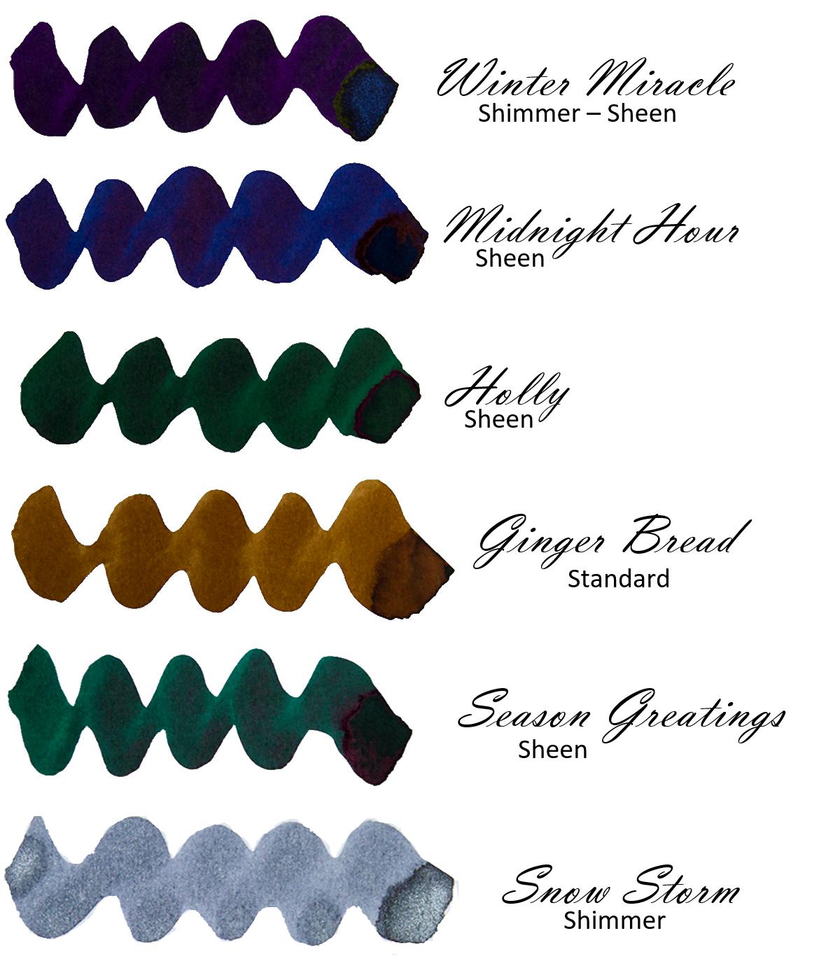 Inkvent Blue Edition Sample Pack