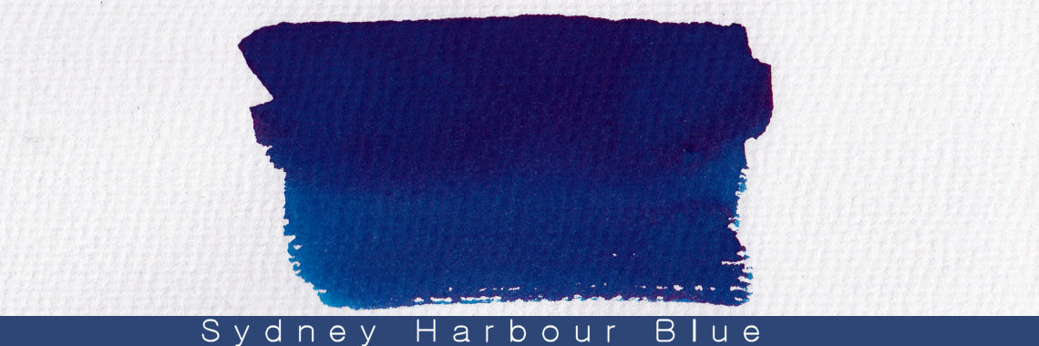 Blackstone Sydney Harbour Blue Ink Sample 2ml