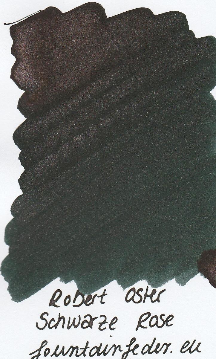 Robert Oster Shake`n`Shimmy - Schwarze Rose Ink Sample 2ml