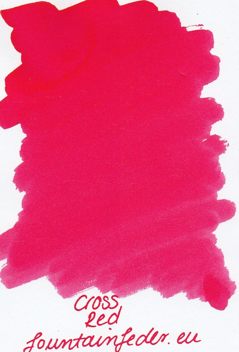 Cross Red Ink Sample 2ml