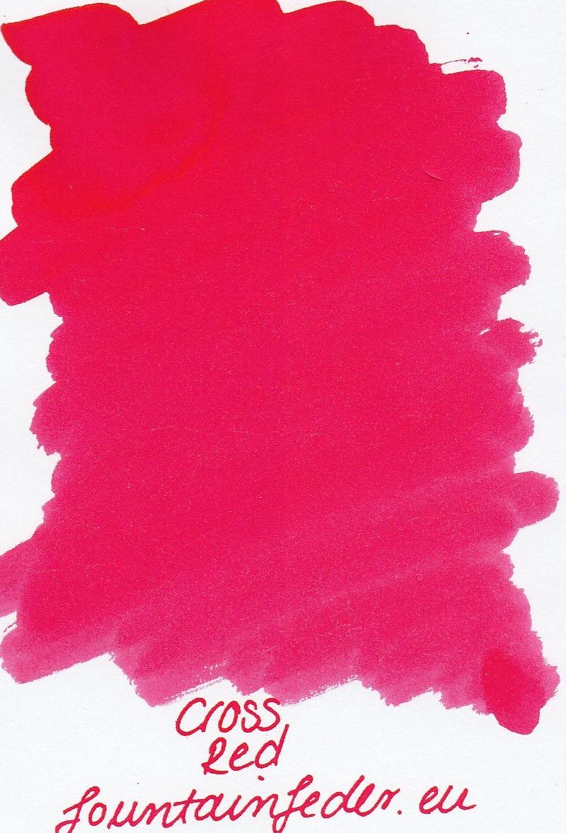 Cross Red Ink Sample 2ml