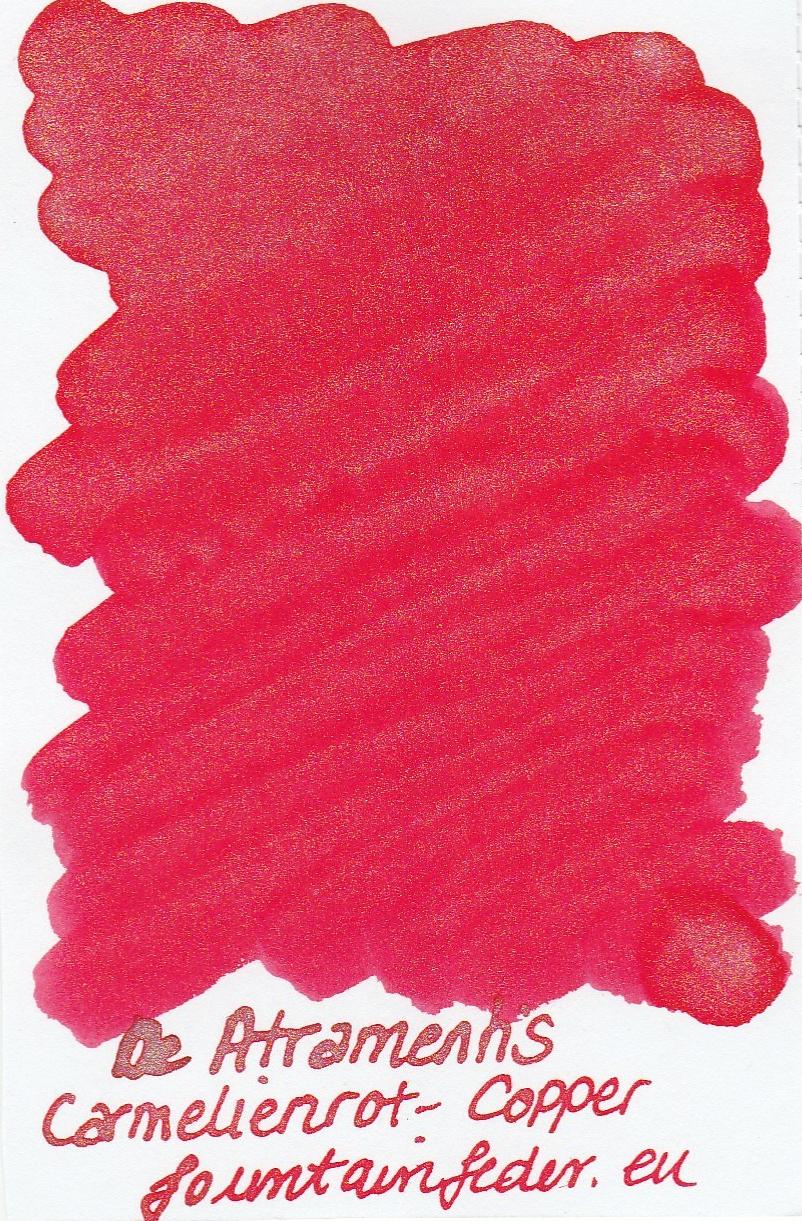 DeAtramentis Carmelienred- Copper Sample 2ml