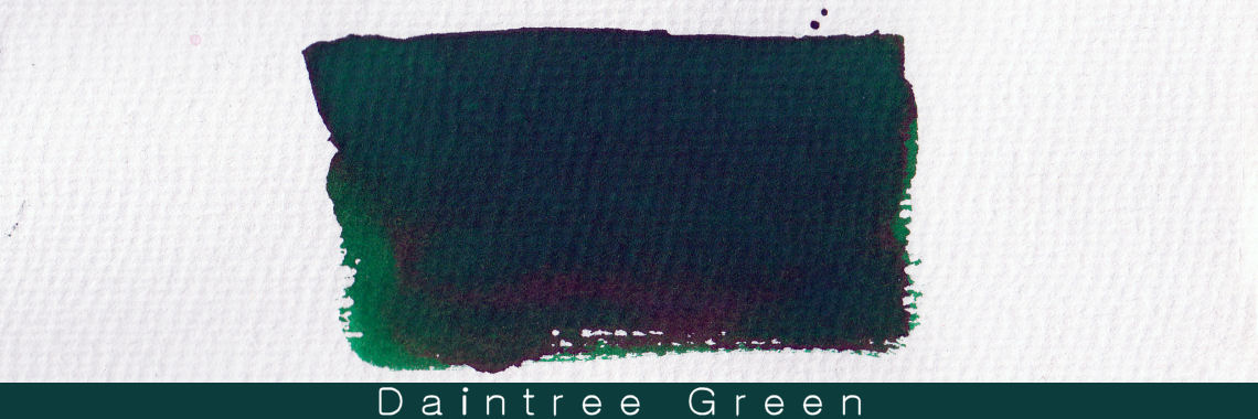 Blackstone Daintree Green Ink Sample 2ml