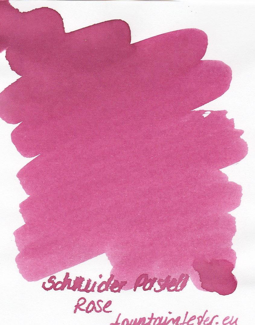 Schneider Pastell Rose Ink Sample 2ml