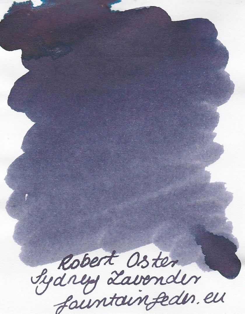 Robert Oster - Sydney Lavender Ink Sample 2ml