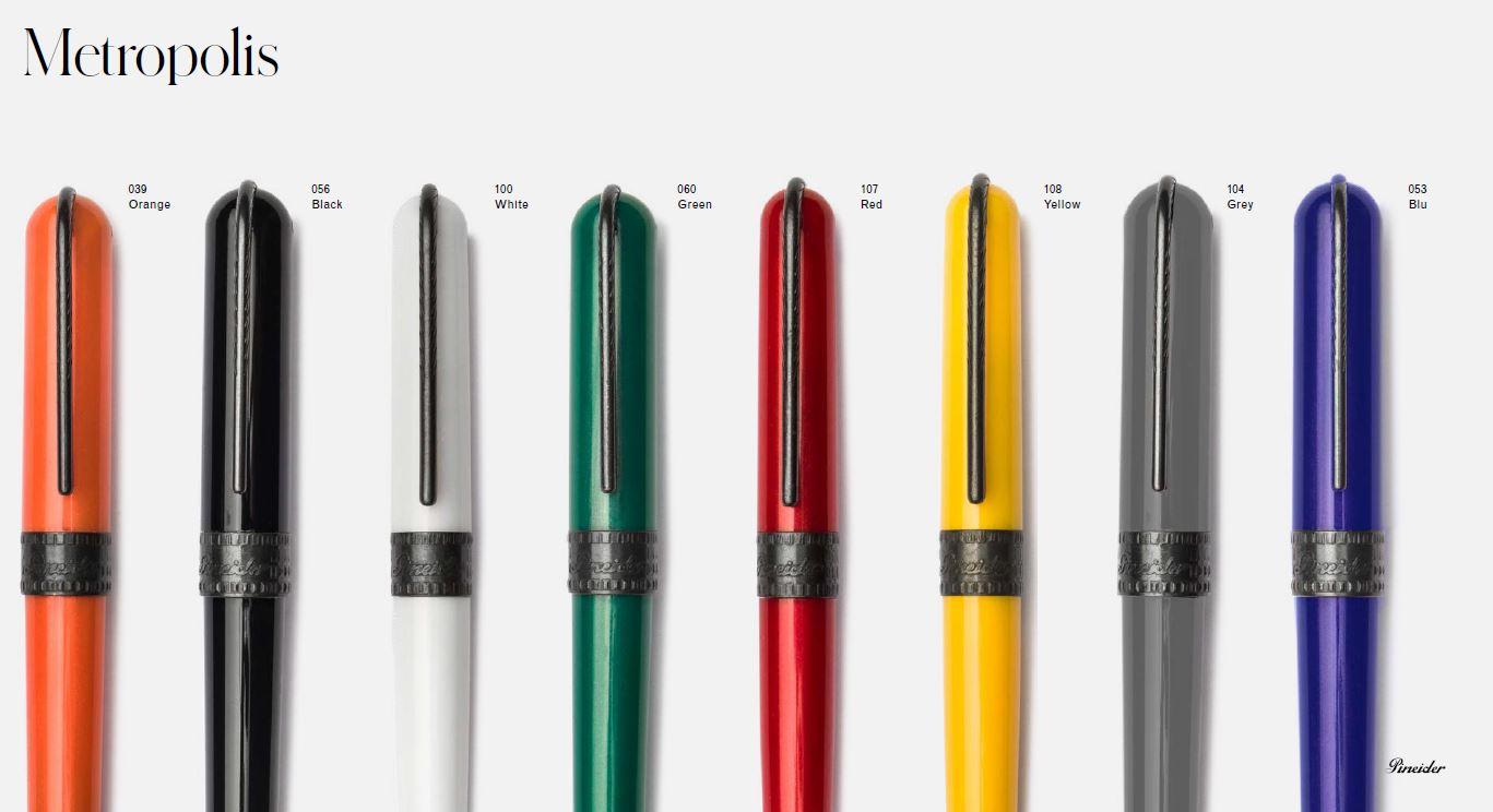 Pineider Metropolis fountain pen