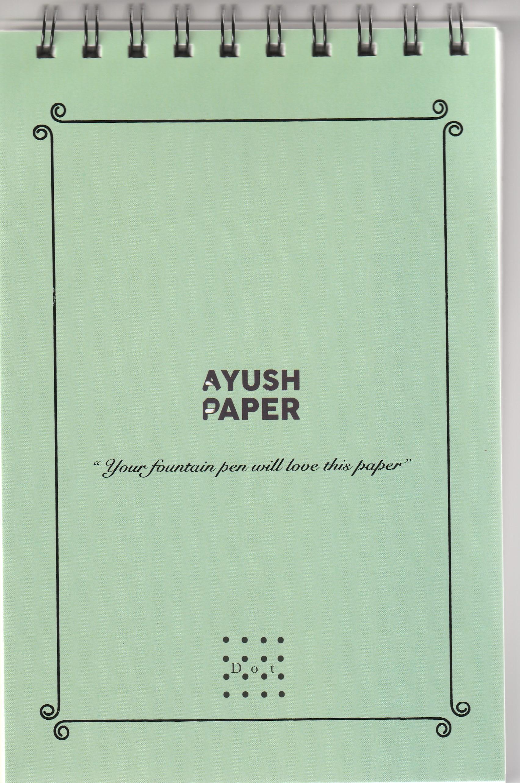 Ayush Paper Notepad A5 Dot