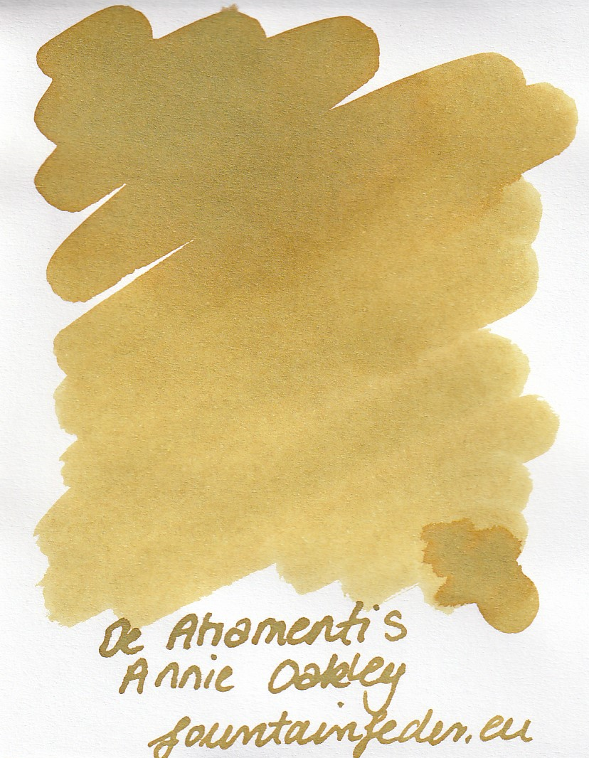 DeAtramentis Annie Oakley Ink Sample 2ml