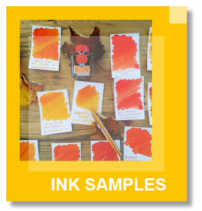 Fountainfeder Ink Samples