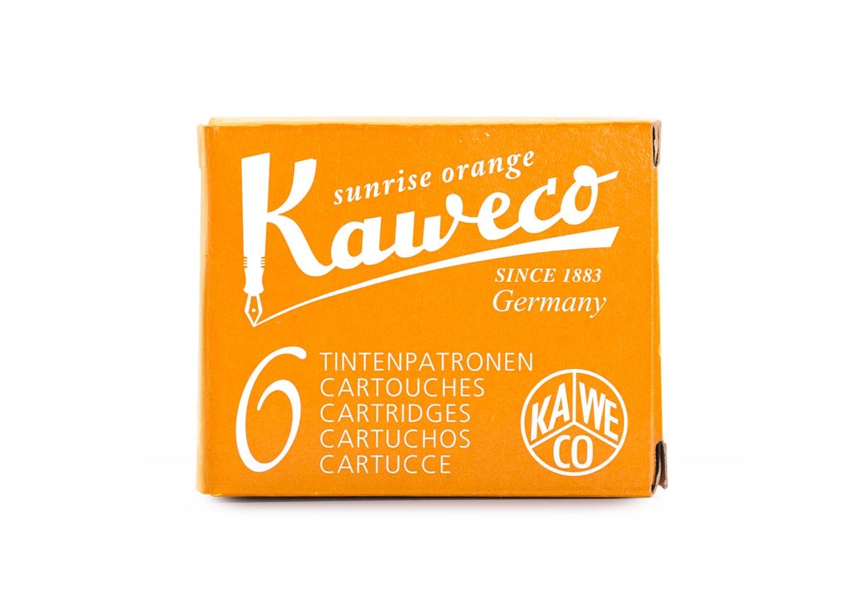 Kaweco Sunrise Orange Cartridges