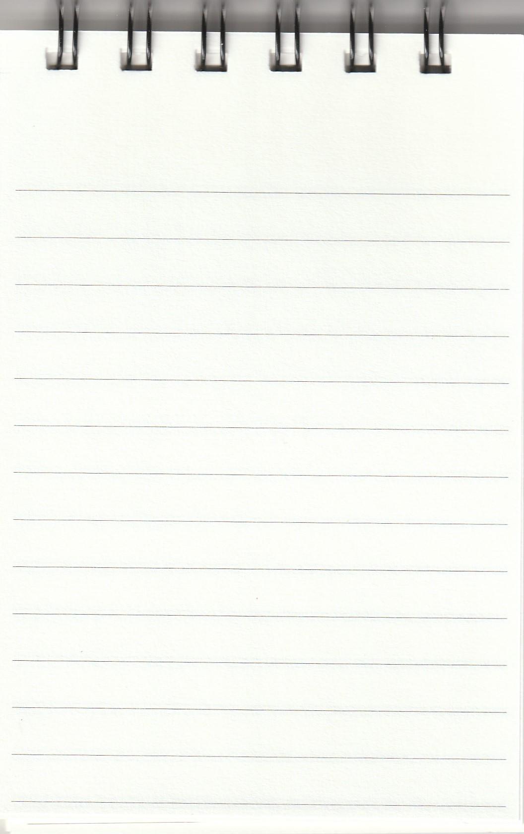 Ayush Paper Notepad A6 Liniert