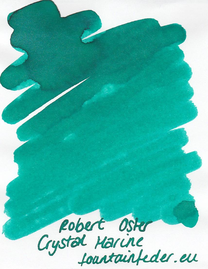 Robert Oster Shake`n`Shimmy - Crystal Marine Ink Sample 2ml