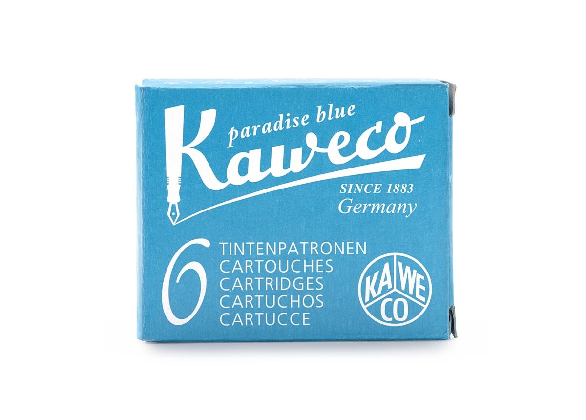 Kaweco Paradise blue Cartridges