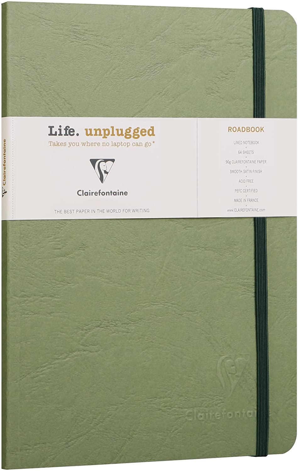 Clairefontaine Roadbook A5 - Green