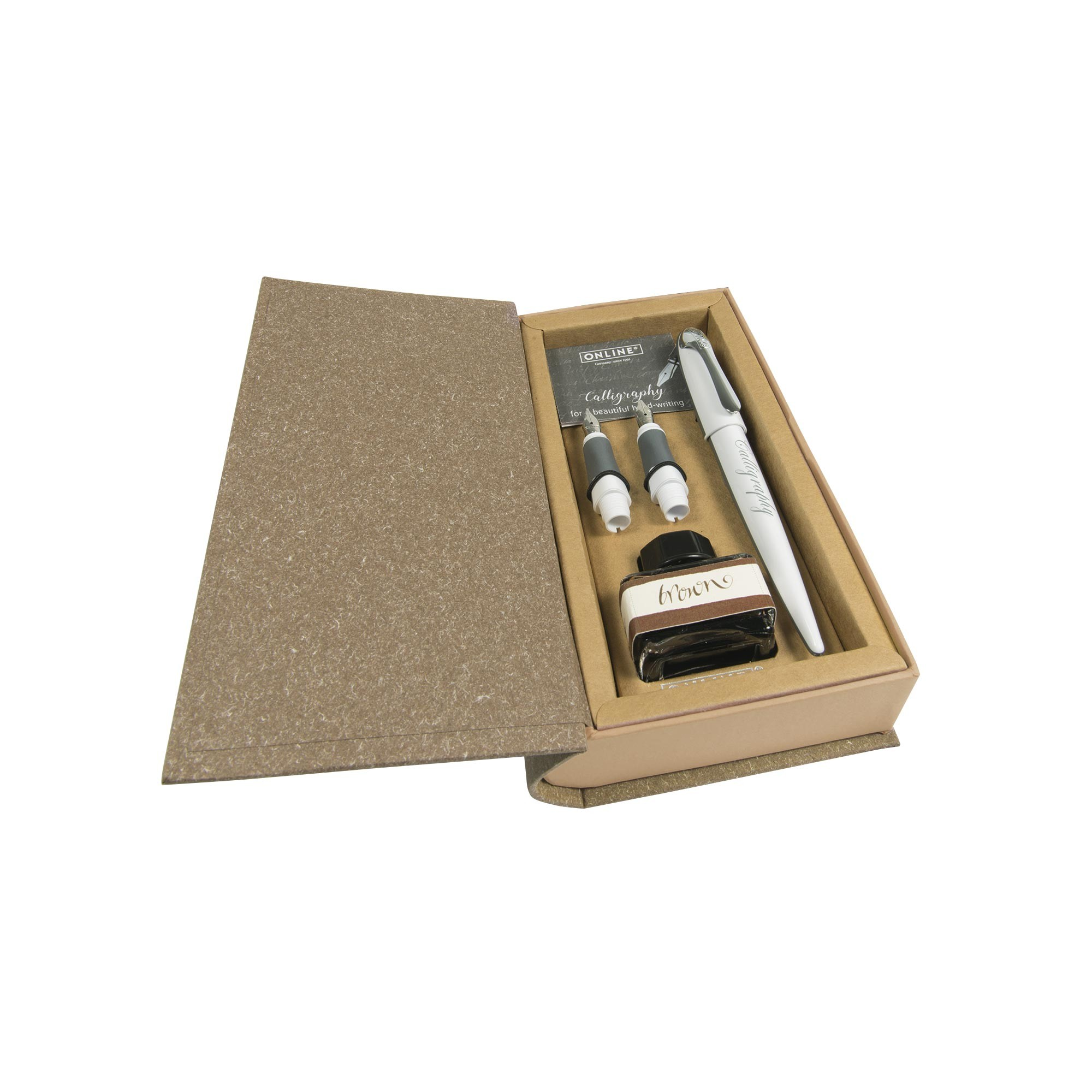 Online Air White Calligraphy Set