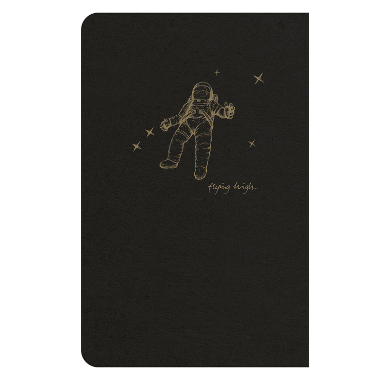 Clairefontaine Flying Spirit 9x14cm Black