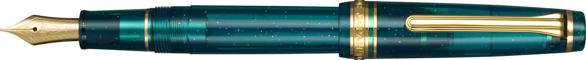 Sailor Professional Gear Slim - Blue Green Nebula